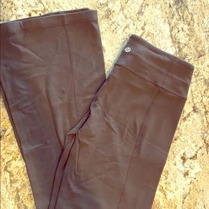 Lululemon brown groove pant